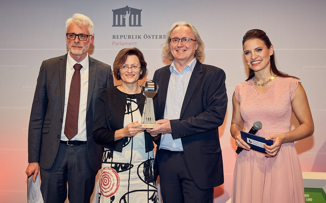 Nachhaltige Vorbilder bei den Austrian SDG-Awards 2019 prämiert