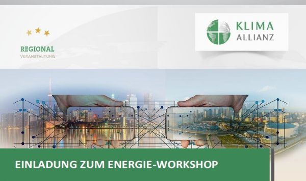 Save the Date – Energie-Workshop
