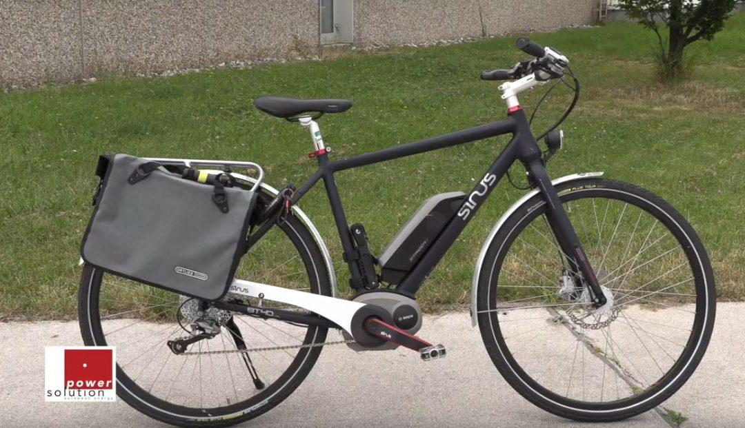 E-Bike für Arbeitsweg und Termine
